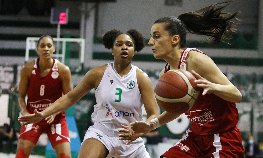 Παναθηναϊκός-Ολυμπιακός 76-73