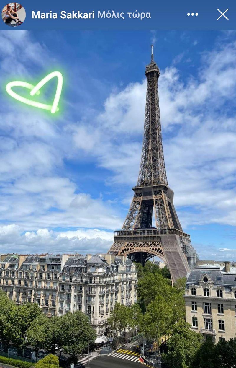 Πάτησε Παρίσι για το Roland Garros η Σάκκαρη (pic)