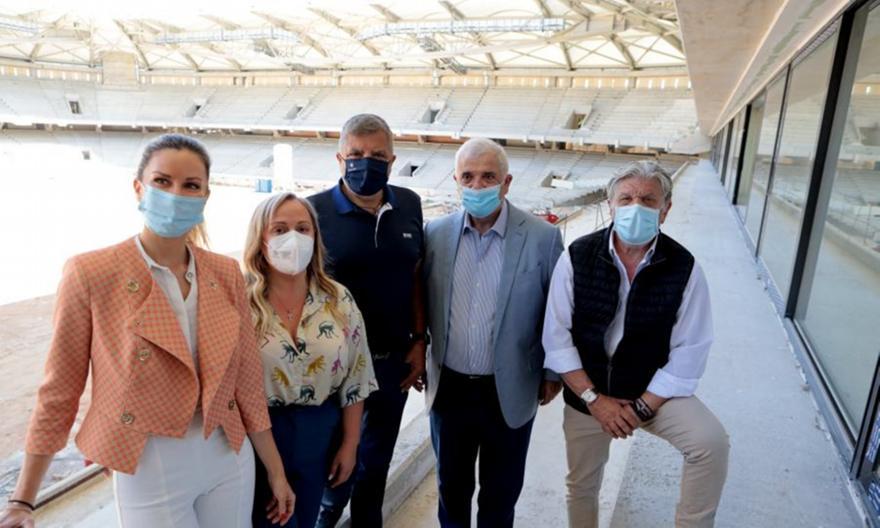 ΑΕΚ: Στην «Αγια-Σοφιά» οι Μελισσανίδης-Πατούλης