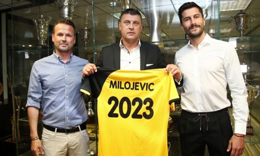 ΑΕΚ: Ανακοίνωσε τον Μιλόγεβιτς - Ποδόσφαιρο - Super League 1 - A.E.K. | sport-fm.gr: bwinΣΠΟΡ FM 94.6