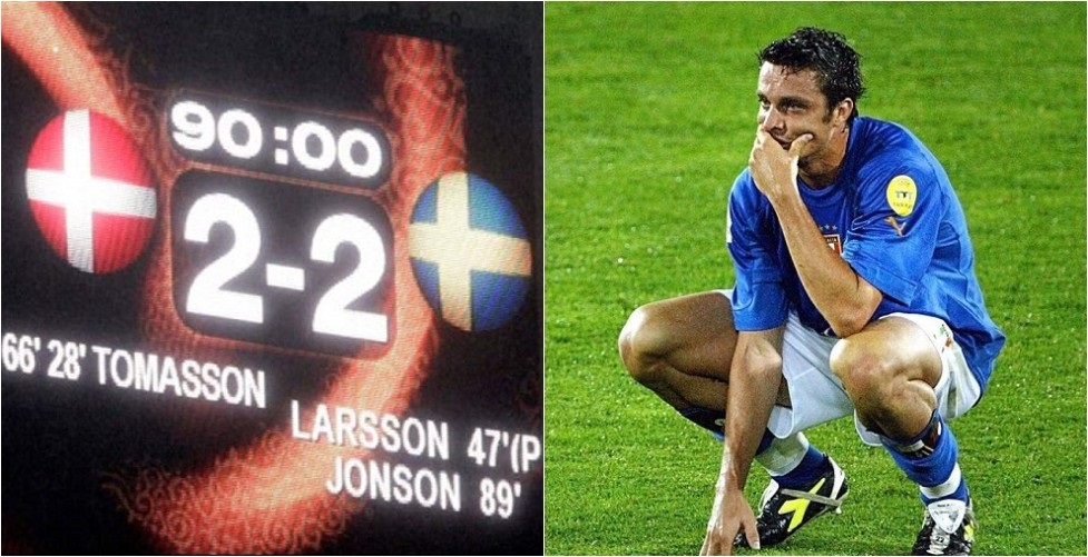 Euro 2004: Το 2-2 που απέκλεισε την εθνική Ιταλίας