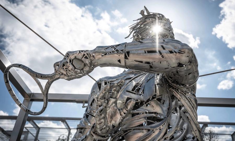 Ρολάντ Γκαρός: Το εντυπωσιακό άγαλμα του Ράφα Ναδάλ