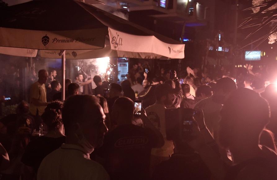 AEK: Πανηγυρισμοί στη Φιλαδέλφεια (pics)