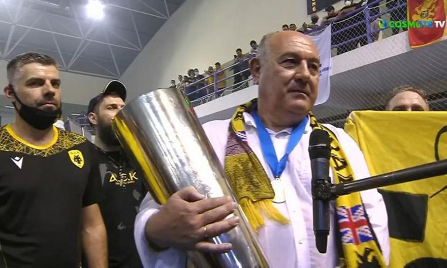 Παπασταμάτης για την κατάκτηση του EHF από την ΑΕΚ