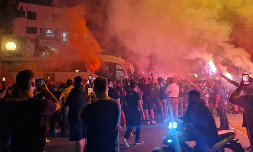 ΑΕΚ: Πάρτι στη Νέα Φιλαδέλφεια για την Κυπελλούχο Ευρώπης