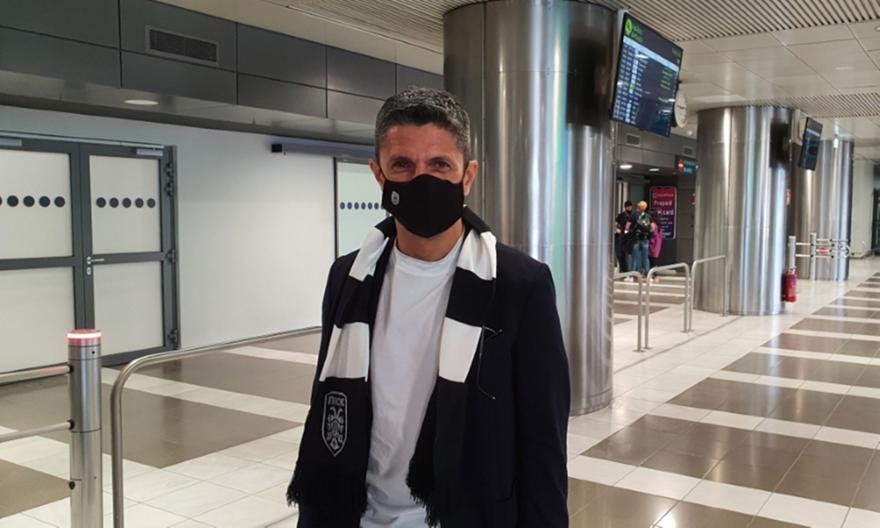 Στη Θεσσαλονίκη ο Λουτσέσκου: «Έχω μεγάλο κίνητρο»