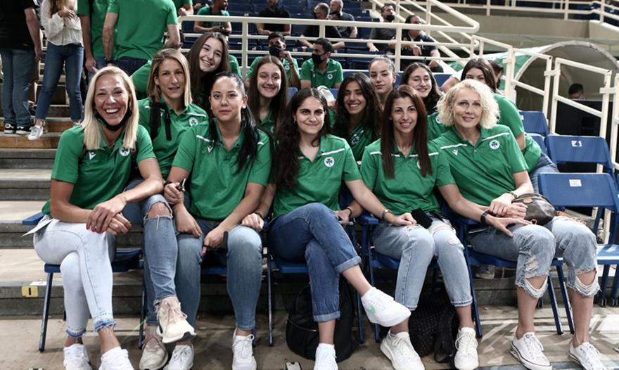 Παναθηναϊκός: Στο ΟΑΚΑ οι «πράσινες» Πρωταθλήτριες Ελλάδας