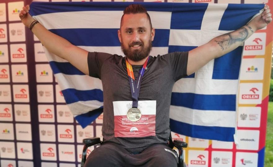 Χρυσό μετάλλιο με ρεκόρ Ευρώπης ο Τζούνης στη δισκοβολία
