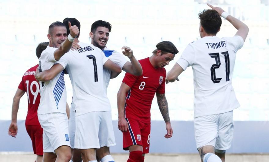 Νορβηγία-Ελλάδα 1-2