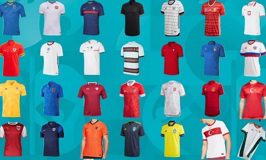 Euro 2020: Αυτές είναι όλες οι φανέλες