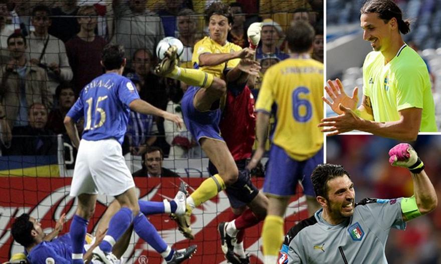 Euro 2004: Η αλήτικη γκολάρα του Ζλάταν