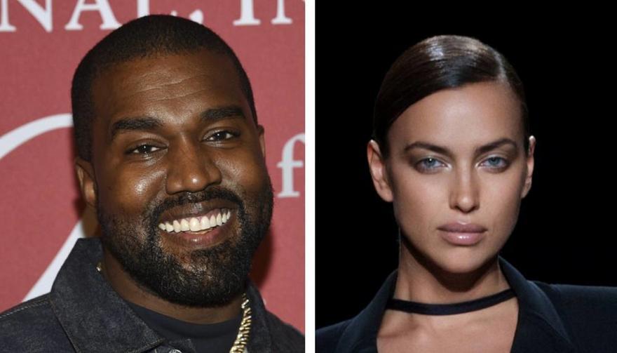 Ζευγάρι Kanye West και Ιρίνα Σάικ