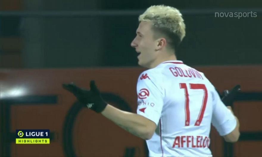 Ligue 1: Όλα τα φετινά γκολ του Γκολόβιν