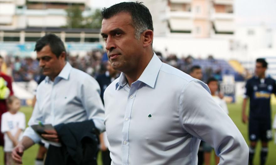 Παναιτωλικός: Νέος προπονητής ο Αναστασίου