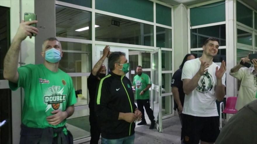 Αποθέωση στο ΟΑΚΑ για τον πρωταθλητή Παναθηναϊκό