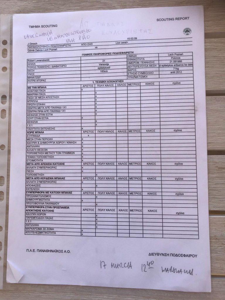 Παναθηναϊκός: Το scouting report Γκμοχ για Λεβαντόφσκι
