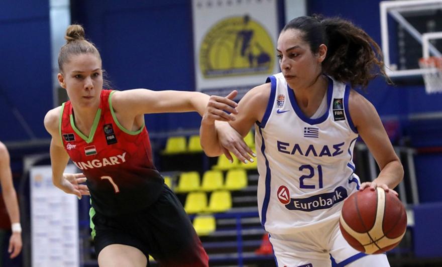 Γυναικών: Πλήγμα με Χριστινάκη, χάνει το Ευρωμπάσκετ
