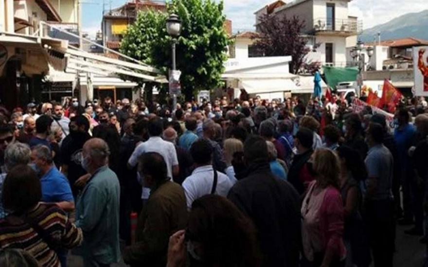 Απεργία: Συμπλοκές στα Ιωάννινα