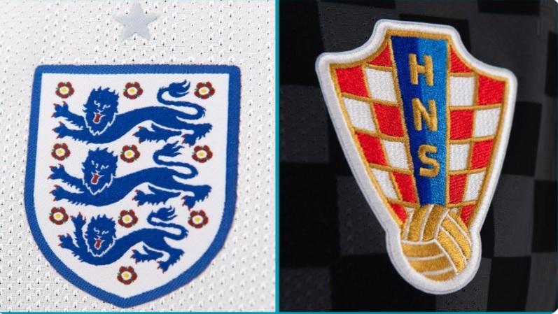 Αγγλία-Κροατία: Οι ενδεκάδες του ματς