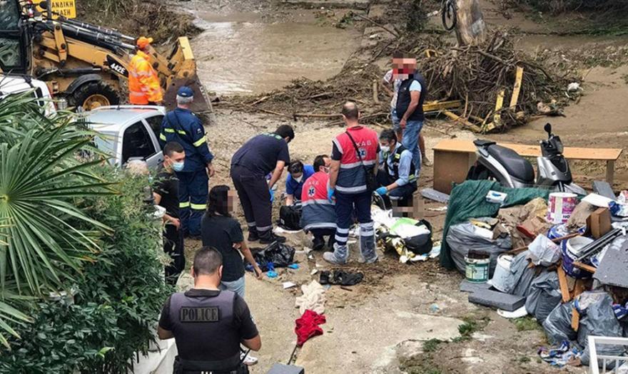 Θεσσαλονίκη: Νεκρός o άνδρας από τον χείμαρρο