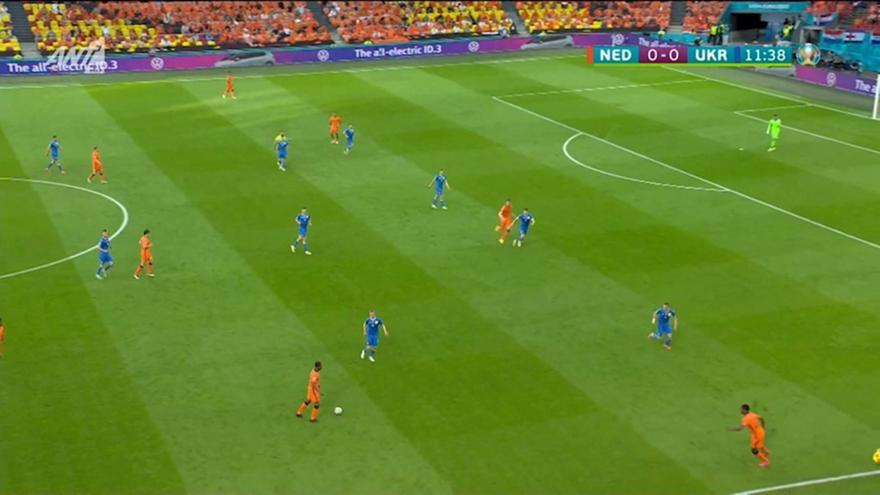 Ολλανδία-Ουκρανία: Οι Οράνιε κράτησαν την μπάλα δύο λεπτά