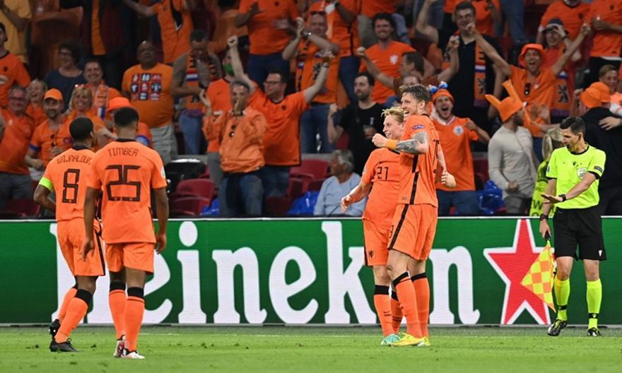 Ολλανδία-Ουκρανία 3-2