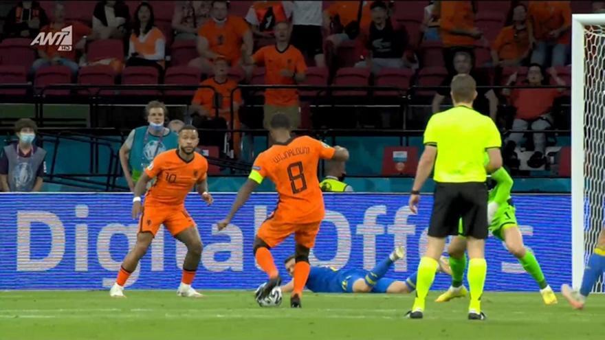 Ολλανδία-Ουκρανία: 2-0 σε επτά λεπτά