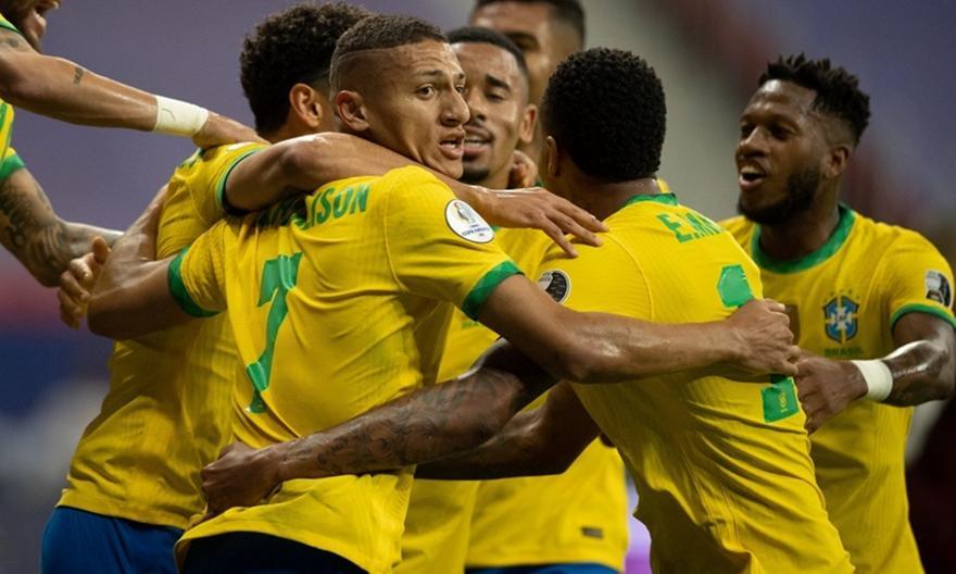 Βραζιλία-Βενεζουέλα 3-0