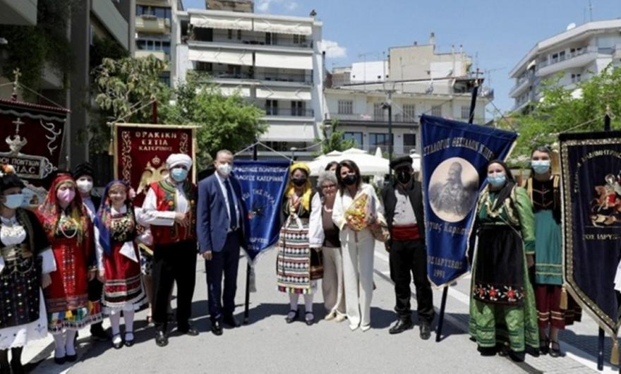 Επίσκεψη αντιπροσωπείας της Επιτροπής «Ελλάδα 2021»