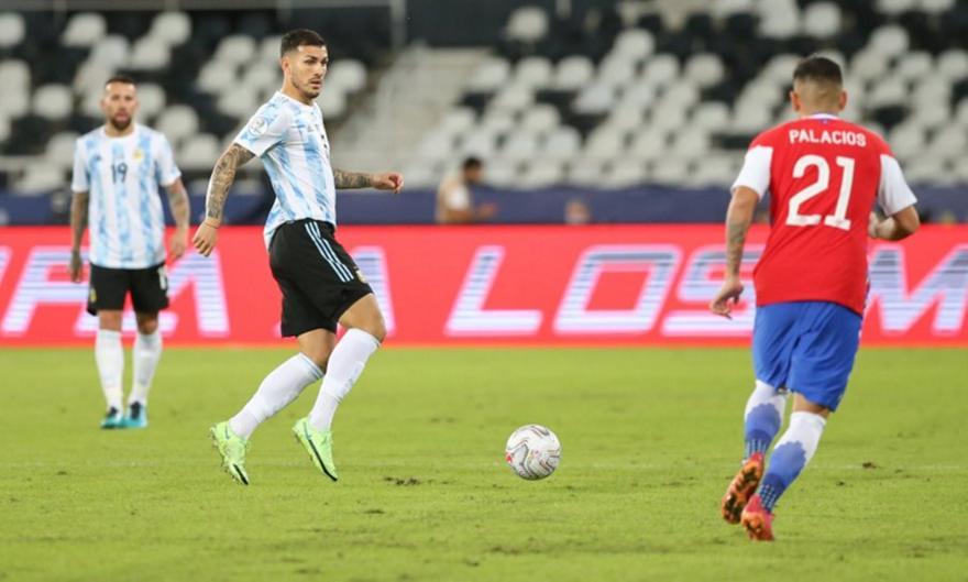 Αργεντινή-Χιλή 1-1