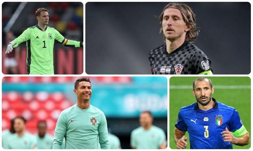 Οι «γέροι» του Euro 2020 θα πήγαιναν για κούπα αν έπαιζαν στην ίδια ομάδα