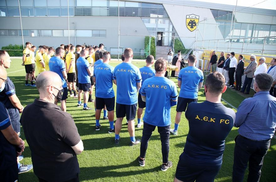 ΑΕΚ: Κλικ από την πρώτη συγκέντρωση για τη νέα σεζόν