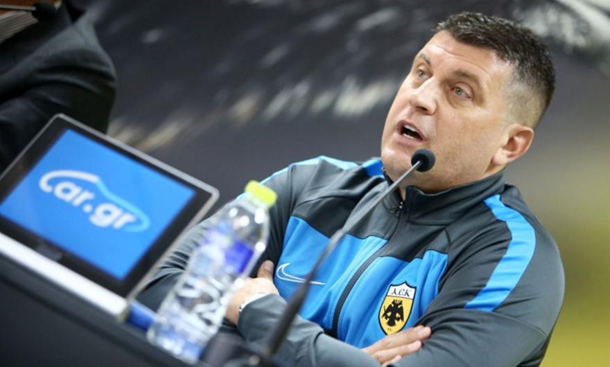 Μιλόγεβιτς: «Θέλω πρώτα το καλό αποτέλεσμα»