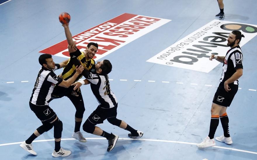 ΑΕΚ-ΠΑΟΚ: Αναβλήθηκε ο 1ος τελικός της Handball Premier