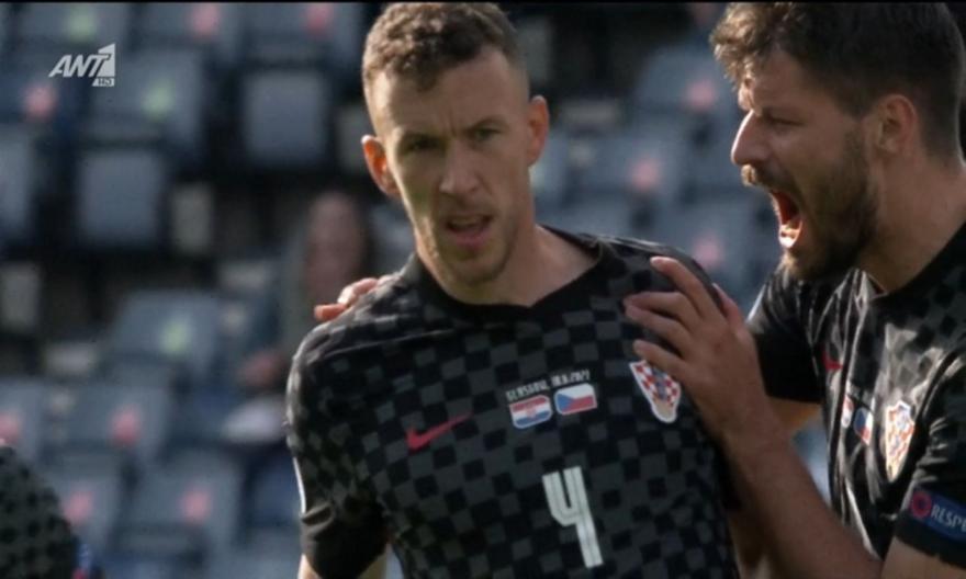 Κροατία-Τσεχία: Το 1-1 με γκολάρα του Πέρισιτς