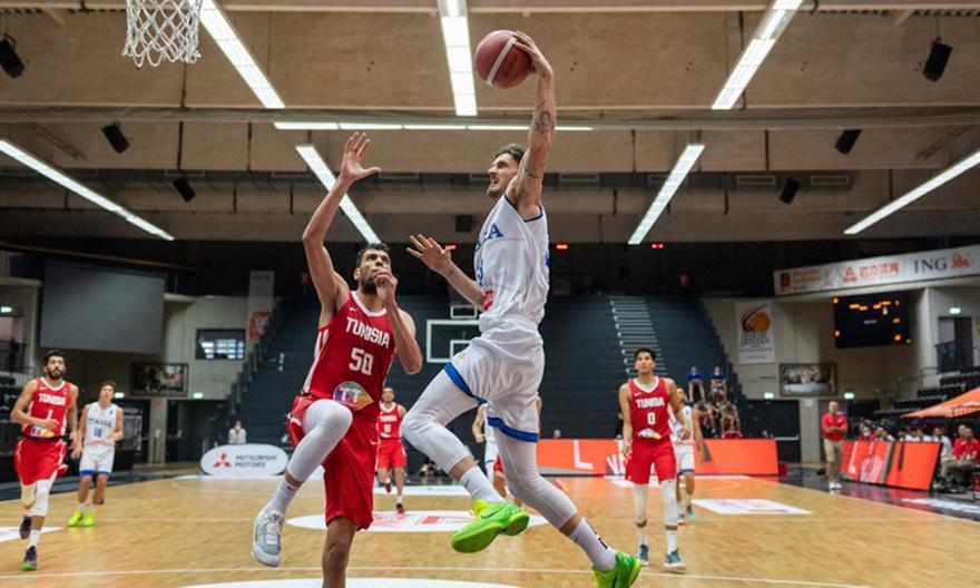 Ιταλία-Τυνησία 82-56