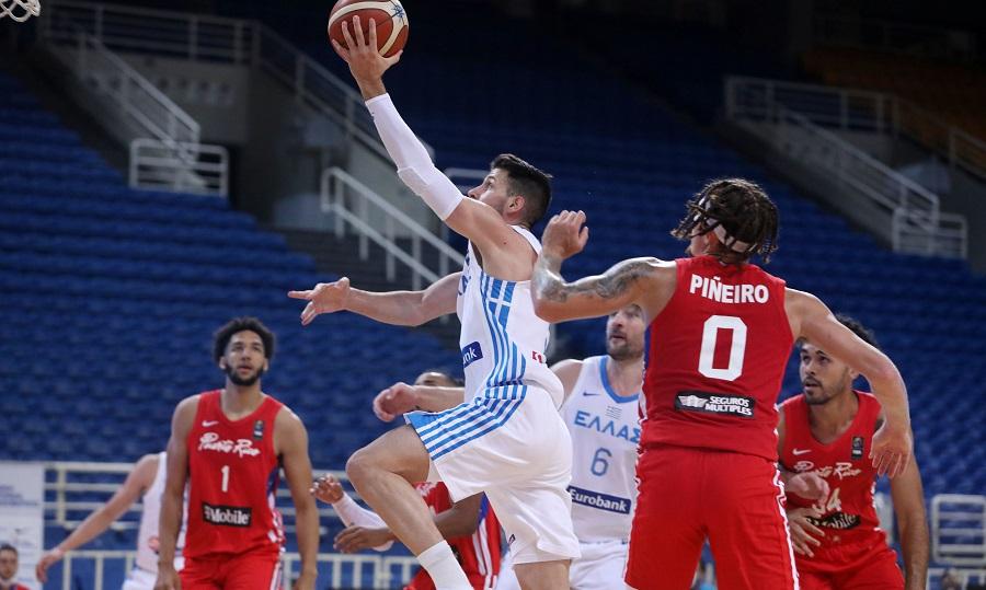Ελλάδα-Πουέρτο Ρίκο 77-69