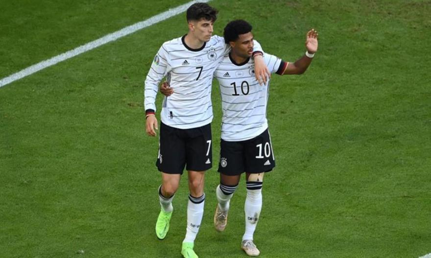 Πορτογαλία-Γερμανία: Τα γκολ των Χάβερτς και Γκόζενς