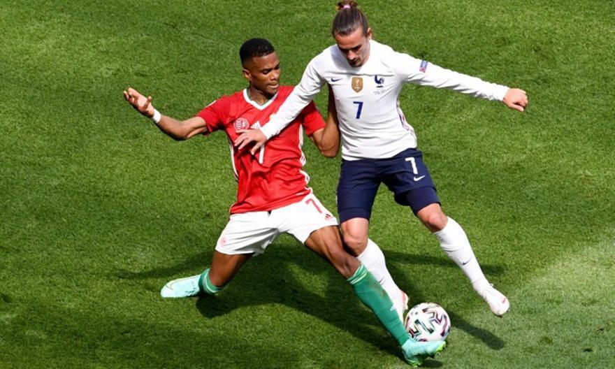 Ουγγαρία-Γαλλία 1-1