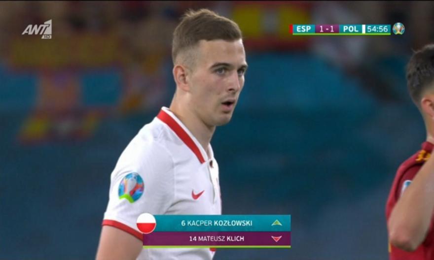 Κοζλόφσκι: Έγινε ο νεότερος παίκτης που αγωνίζεται σε Euro