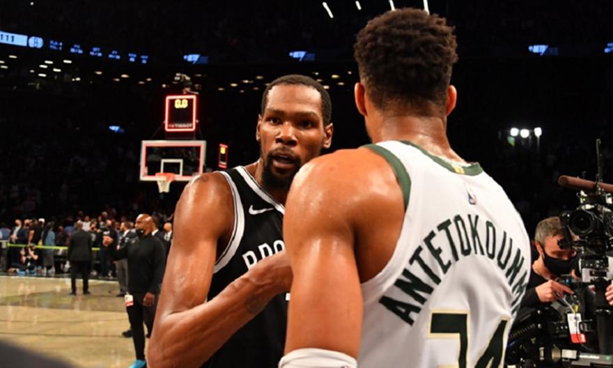 NBA Top 5: Φουλ Γιάννης και Ντουράντ