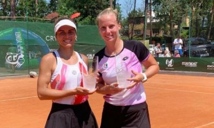 Τίτλος στο διπλό τένις για Γραμματικοπούλου στην Τσεχία