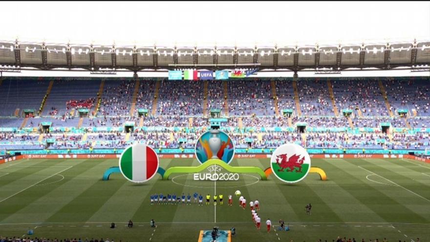 Ιταλία-Ουαλία: Τα highlights του ματς