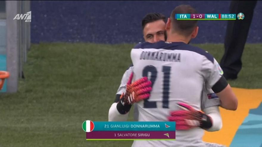 Ιταλία-Ουαλία: Ο Μαντσίνι άλλαξε και τερματοφύλακα στο ματς