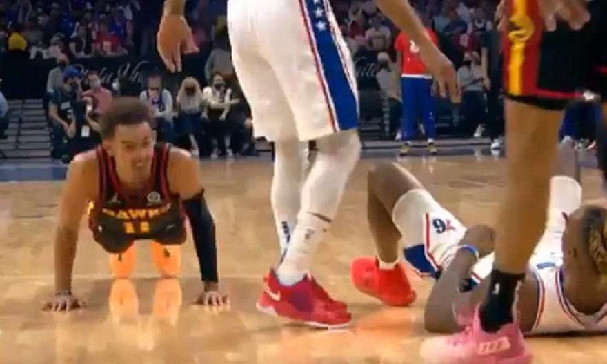 NBA: Ο Τρέι Γιάνγκ το έριξε στα... push-ups!