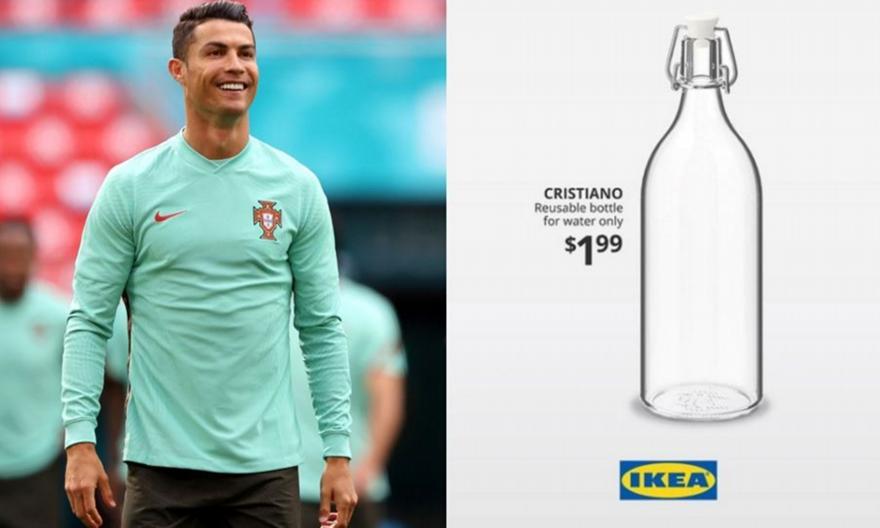 Ρονάλντο: Τα ΙΚΕΑ λανσάρουν μπουκάλι με το όνομά του