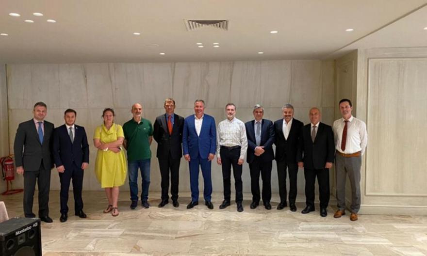 Ξιφασκία: Προεδρική συνάντηση εργασίας των Ομοσπονδιών