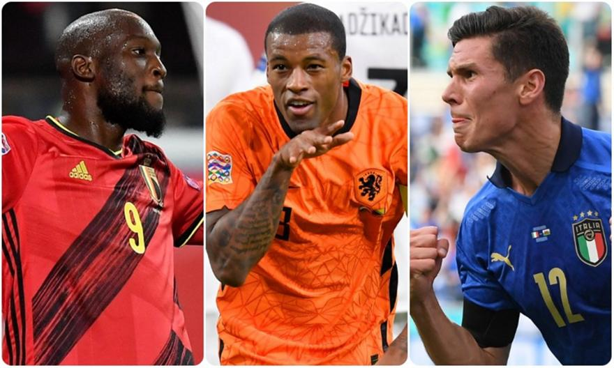 Euro 2020: Οι οιωνοί δεν είναι με Ιταλία, Βέλγιο, Ολλανδία!