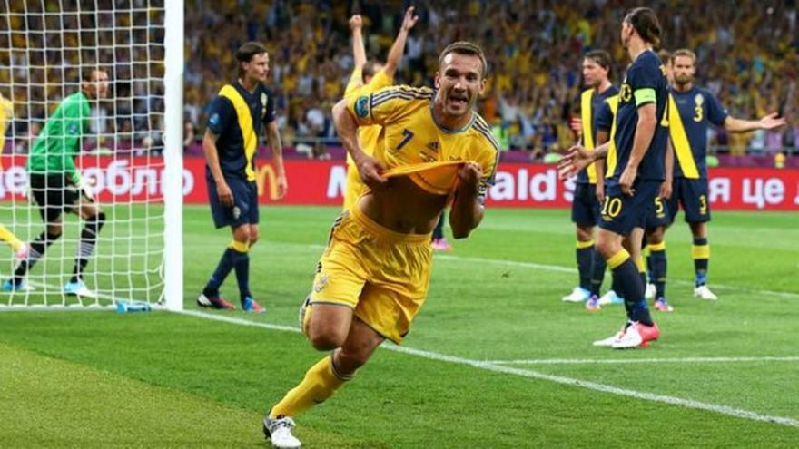 Η τελευταία σπουδαία παράσταση του Σεφτσένκο στο Ουκρανία-Σουηδία του Euro 2012
