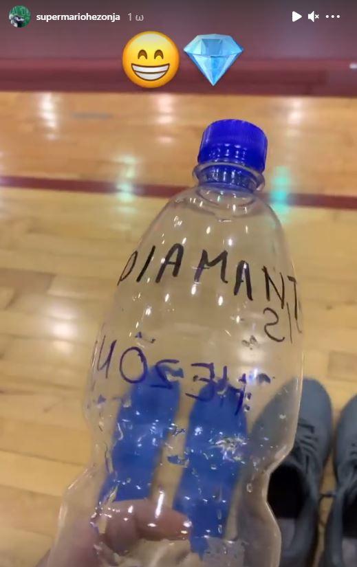 Χεζόνια: Έγραψε σε μπουκάλι το όνομα του Διαμαντίδη
